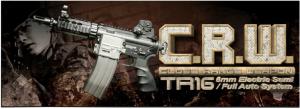 【翔準軍品AOG】*無法超取*G&G怪怪 TR16 C.R.W. 電動槍 AEG 金屬 免運費 M4
