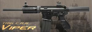 【翔準軍品AOG】*無法超取*G&G怪怪 TR16 CRW Viper 電動槍 M4 金屬 免運費