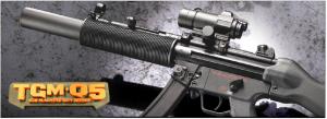 【翔準軍品AOG】*無法超取*G&G怪怪 TGM Q5 MP5 SD 電動槍 AEG 金屬 免運費