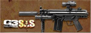【翔準軍品AOG】*無法超取*G&G怪怪 G3 SAS 電動槍 AEG 金屬 免運費 CQB