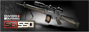 【翔準軍品AOG】*無法超取*G&G怪怪  SG550 突擊步槍 電動槍 AEG 鋼製 免運費