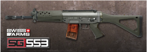 【翔準軍品AOG】*無法超取*G&G怪怪 SG553 突擊步槍 電動槍 AEG 金屬 免運費