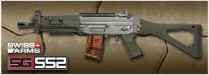 【翔準軍品AOG】*無法超取*G&G怪怪 SG552 突擊步槍 電動槍 AEG 金屬 免運費