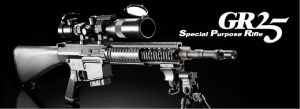 【翔準軍品AOG】*無法超取*G&G怪怪 GR25 S.P.R. SR25 電動槍 AEG 金屬 免運費