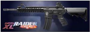 【翔準軍品AOG】*無法超取*G&G怪怪 GR15 Raider XL Blow Back 電動槍 半金屬 免運費