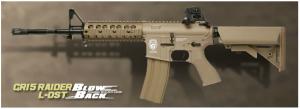 【翔準軍品AOG】*無法超取*G&G怪怪 GR15 Raider L DST Blow Back 電動槍 半金屬 免運費