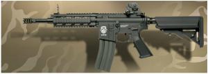 【翔準軍品AOG】*無法超取*G&G怪怪 GR16 CQW RUSH Blow Back 電動槍 金屬 免運費