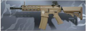 【翔準軍品AOG】*無法超取*G&G怪怪 GR16 CQW RUSH Blow Back DST 電動槍 金屬 免運費