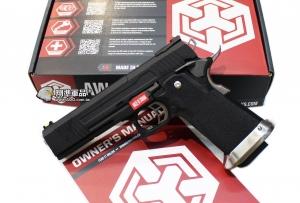 【翔準軍品AOG】WE 黑色 AW HI-CAPA HX1002 全金屬 瓦斯槍 手槍 滑套分離款 D-02-05DH