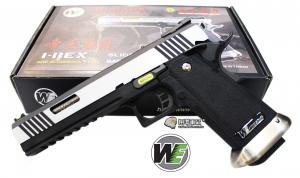 【翔準軍品AOG】WE 6吋暴龍  無刻字 銀色 銀色槍管 瓦斯槍 手槍 競技版 有後座力 D-02-05BB