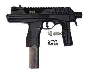 【翔準軍品AOG】*無法超取* KSC 黑色 MP9 衝鋒槍 副武器 瓦斯槍 GBB 室內殺手 D-06-5-01E