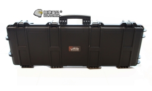 【翔準軍品AOG】UFC102X33X15公分箱黑高級版 槍箱 高密度海綿 塑膠箱 鋁箱 箱子 樂器 電動槍 瓦斯槍 長槍 DA-GC-032A