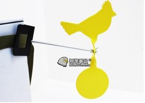 【翔準軍品AOG】 綁樹上小黃金雞金屬靶 黃色 動物靶 標靶 比賽 耗材