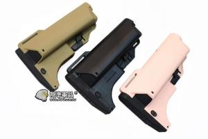 【翔準國際AOG】神龍海豹托彈匣托(黑/尼/粉紅) 槍托 AK M4 周邊配件 瓦斯槍 電動槍 SL-01A