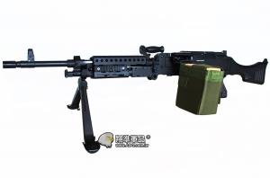 【翔準軍品AOG】S&T 重型機槍 M240機槍 重型機槍 全金屬 尼龍槍托 DA-AEG-67