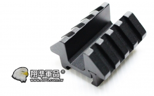 【翔準軍品 AOG】U型雙邊魚骨夾具 (Y0027)金屬 狙擊鏡 紅外線夾具 鏡橋  B05044