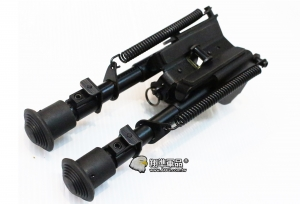【翔準軍品 AOG】6吋豆豆腳架 全金屬 槍架 快縮式腳架 狙擊槍 B06001