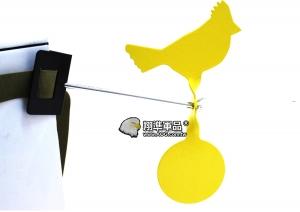 【翔準軍品AOG】 綁樹上小黃金雞金屬靶 黃色 動物靶 標靶 比賽 耗材 Z-04AK