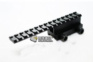 【翔準軍品 AOG】14.5cm 增高寬軌Y0032金屬 狙擊鏡 紅外線夾具 鏡橋 B05061-1