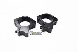【翔準軍品 AOG】25MM低窄金屬 狙擊鏡 紅外線夾具 鏡橋 B05099