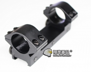 【翔準軍品AOG】連體夾具 25mm 低寬 鏡橋 金屬材質 狙擊鏡 寬軌 B05200