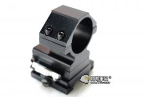 【翔準軍品AOG】30MM 口徑 快翻 側翻 四螺 夾具 金屬 寬軌 鏡架 鏡座 4顆螺絲 狙擊鏡用 B05101