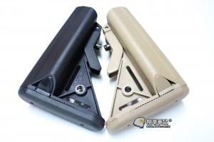 【翔準軍品AOG】海豹托 塑膠材質 零件 可裝電池 電槍/瓦斯槍用 後托 (不含托桿)  C1018-3