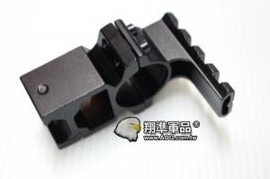 【翔準軍品AOG】25mm 魚骨型高寬 上魚骨 四螺 金屬 夾具 狙擊鏡用 寬軌 鏡架 鏡座  B05022A