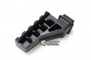 【翔準軍品AOG】ABS-單面魚骨/彈力握把用 腳架用  塑膠材質 延伸 魚骨 側邊 夾具 黑 C0240A