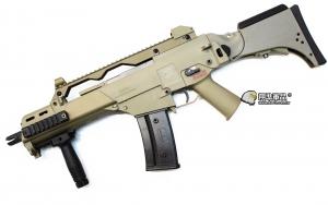 【翔準國際AOG】S&T C316CV EBB G36CV 沙色 半金屬 衝鋒槍 G36 C316 電動槍 生存遊戲 DA-ST-G316-