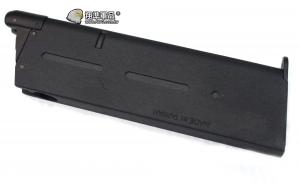 【翔準軍品AOG】【KJ】1911 瓦斯彈匣 薄 黑 GBB 原廠 彈匣 彈夾 金屬 瓦斯手槍彈匣 D-01-049A