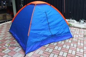 【翔準軍品AOG】 單層3-4人帳篷 多人 帳棚 多人帳 單層 登山 露營 戶外活動 旅遊 LGE001-1A