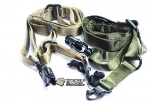【翔準軍品AOG】高級單點背帶MS2 布料材質 零件 槍背帶 槍背袋 槍繩  C0902-3