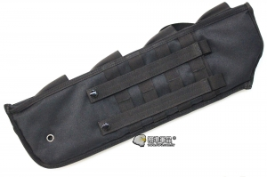 【翔準軍品AOG】 高級散彈槍套-黑 散彈槍 槍套 彈匣 散彈匣 散彈槍零件 生存遊戲 周邊商品 X0-59-01