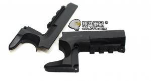 【翔準軍品AOG】[手槍下魚骨] CAP手槍魚骨 塑膠材質 零件 周邊商品 C1102-5