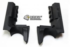 【翔準軍品AOG】[手槍下魚骨] VS手槍魚骨 塑膠材質 零件 周邊商品 沙色/黑色 [任選一色] C1102-5