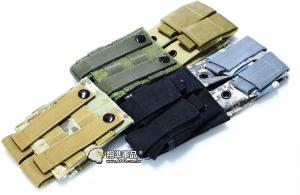 【翔準軍品AOG】手槍[雙連彈匣袋] 9mm   瓦斯槍 瓦斯彈匣 填彈器 電池袋 X0-10-7ZJ