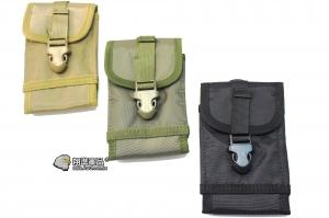 【翔準軍品AOG】703手機包 彈匣包(黑/綠/尼) 包包 扣環 夾具  扣環 塑膠 P2911-A