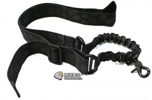 【翔準軍品AOG】 加厚款-單點槍背帶黑蟒色 槍帶 高品質 瓦斯槍 扣環 電動槍 高級 C0906-3BB