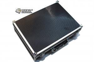 【翔準軍品AOG】30X20X9鋁箱 (黑) 槍箱 釣竿 寶石 黃金 箱子 託運箱 化妝 P0114A