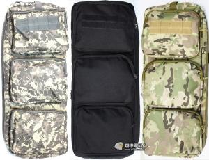 【翔準軍品AOG】55公分槍袋(黑/ACU/CP) 側背包(MP7) 單槍包 衝鋒槍帶 短槍 瓦斯槍 電動槍 槍箱 周邊配件 P0132-7