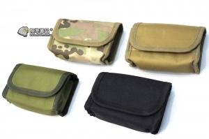 【翔準軍品AOG】MOLLE橫包(黑/CP/尼/綠) 10發子彈包 腰包 登山包 手提包 小包包 工具包 X0-48-1