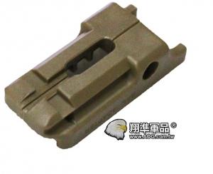 【翔準軍品AOG】[手槍下魚骨] USP.45手槍魚骨 塑膠材質 零件 周邊商品 C1102-5
