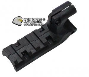 【翔準軍品AOG】[手槍下魚骨] 1911手槍魚骨 塑膠材質 零件 周邊商品 黑/沙色 [任選一色]C1102-5