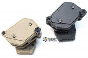 【翔準軍品AOG】 新式多角度彈袋(黑/尼) FMA 360度 瓦斯槍 手槍 彈夾 快拔套 彈袋 P1116-8