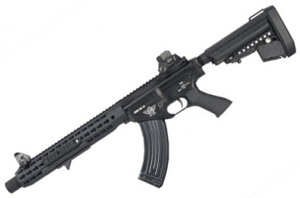 【翔準軍品AOG】 BOLT BR47 KEYMOD SUPPRESSOR 黑色 BOLT 後座力 電動槍 生存遊戲 步槍 卡賓槍