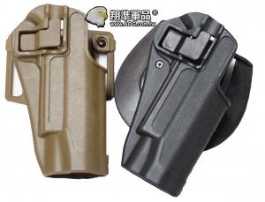 【翔準軍品AOG】1911 硬殼腰掛 手槍套 硬殼槍套 周邊配件 瓦斯槍 P1110-2