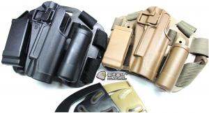 【翔準軍品AOG】1911 硬殼腿掛 手槍套  硬殼 槍套 周邊零配件 生存遊戲 P1105-1