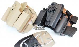 【翔準軍品AOG】P226 硬殼腿掛 手槍套  硬殼 槍套 周邊零配件 生存遊戲 P1104-2
