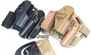 【翔準軍品AOG】USP硬殼腿掛 手槍套  硬殼 槍套 周邊零配件 P1103-1
